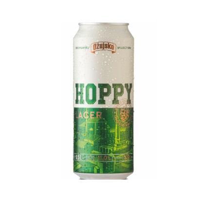 Pivo Ožujsko Hoppy lager limenka 0,5 L