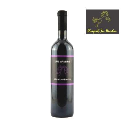 Vino Cabernet sauvignon 0,75 L San Martino