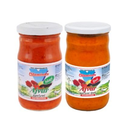 Ajvar Vitaminka blagi i ljuti 295 g