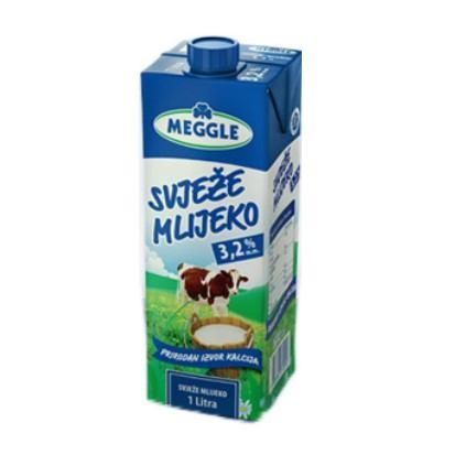 Svježe mlijeko 3,2% m.m. 1 L Meggle