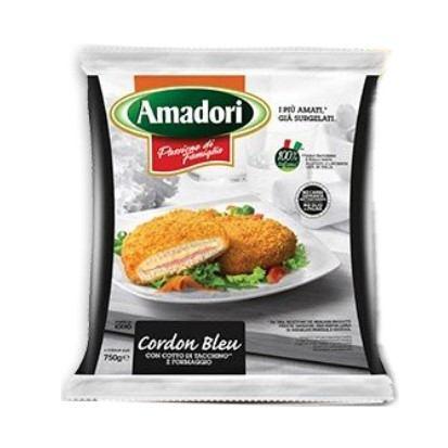 Pileći panirani cordon bleu Amadori 750 g