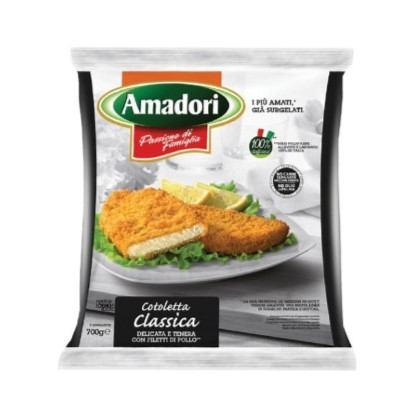 Pileći panirani odresci Amadori 700 g