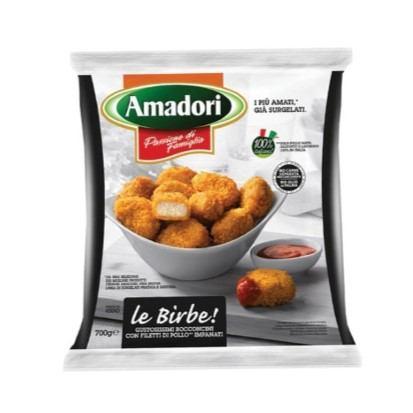 Pileći panirani medaljoni (nuggets) Amadori 700 g