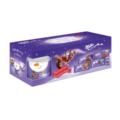 Milka Xmas with mug 437 g