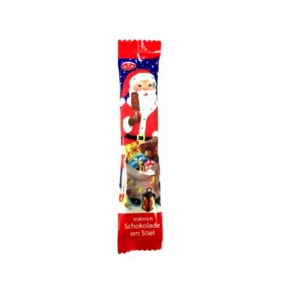 Čokoladna lizalica Djed Božićnjak 15 g