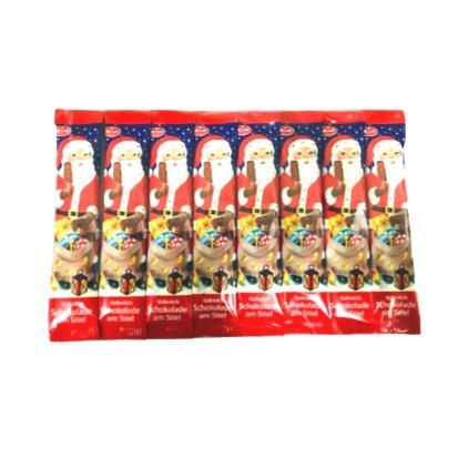 Čokoladna lizalica Djed Božićnjak 8x15 g
