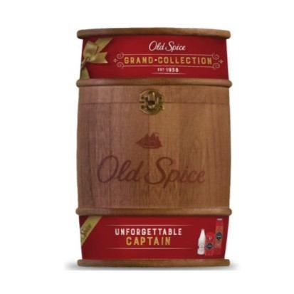 Poklon paket Old spice u drvenoj bačvi