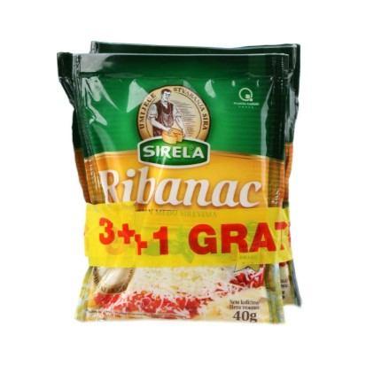 Sirela ribanac 3+1 gratis 160 g