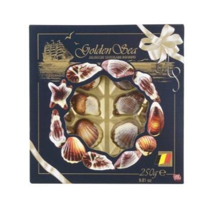 Bombonjera belgijske školjke 250 g