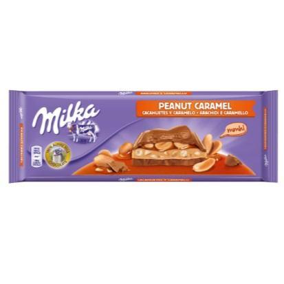 Čokolada Milka Peanut caramel 276 g