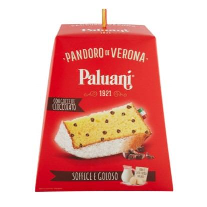 Paluani Pandoro sa kapljicama čokolade 750 g
