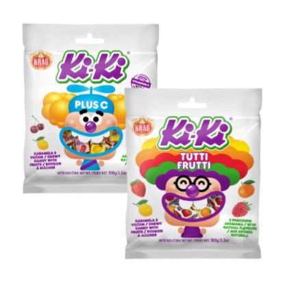 Bomboni Ki-Ki plus C, Tutti frutti 100 g