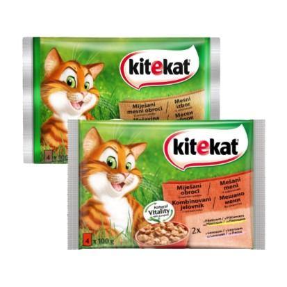 Hrana za mačke Kitekat 4x100 g