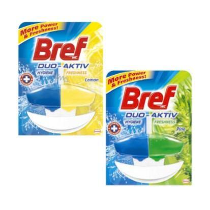 Osvježivači za wc školjku Bref Duo aktiv Pine, Lemon 50 ml