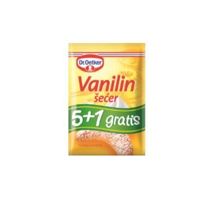 Vanilin šećer Dr. Oetker 5+1 48 g