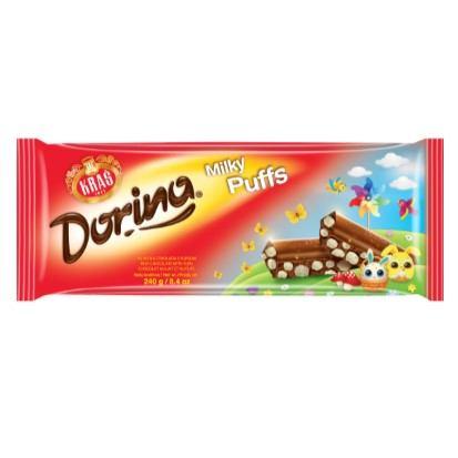 Čokolada Dorina Milky puffs 240 g