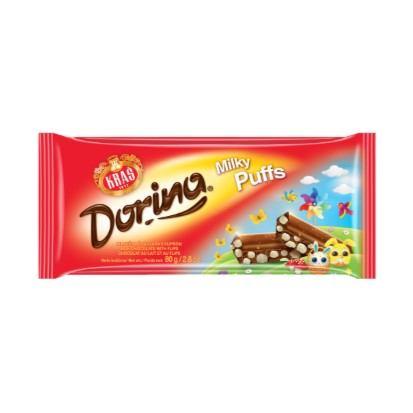 Čokolada Dorina Milky puffs 80 g