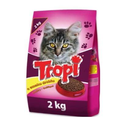 Kroketi za mačke Tropi perad 2 kg
