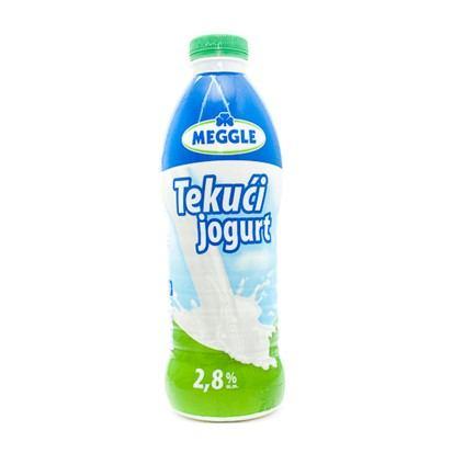 Tekući jogurt Meggle 2,8% m.m. 1 L