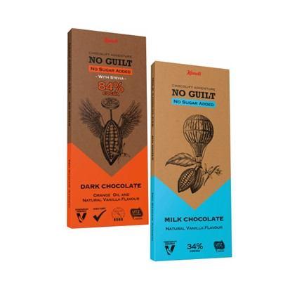 Čokolade Kandi dark i milk no added sugar 80 g
