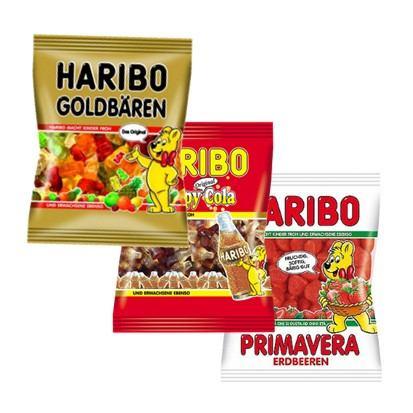 Bomboni Haribo razne vrste 100 g