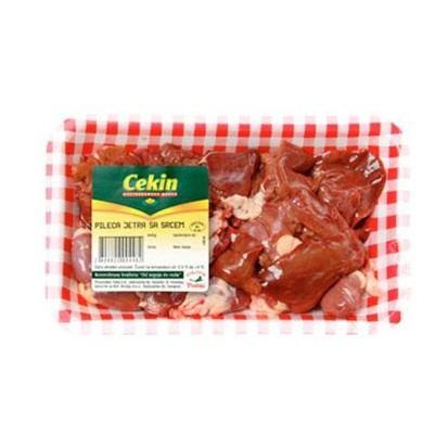 Pileća jetra sa srcem Cekin (svježe) 500 g