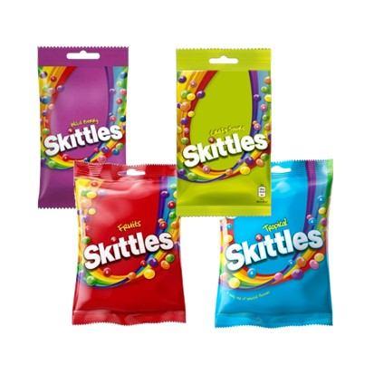 Bomboni Skittles 125 g razne vrste