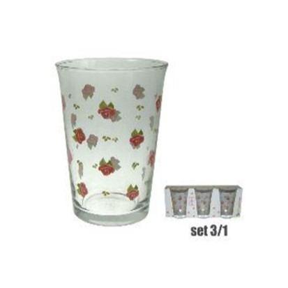 Čaše Spring rose 3/1 290 ml