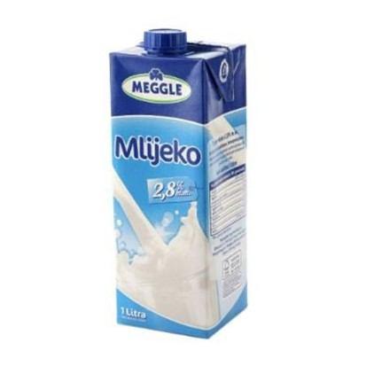 Mlijeko Meggle 2,8% m.m. 1 L