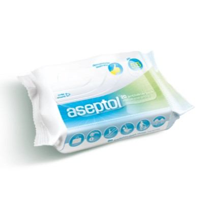 Vlažne maramice antibac. Aseptol 20 komada