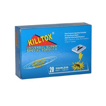 Tablete za električni aparat Killtox 20 komada