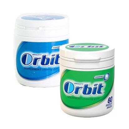 Žvakača guma Orbit pepermint i spearmint 84 g