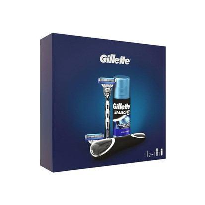 Poklon paket Gillette Mach 3 Turbo 5 dijelni set