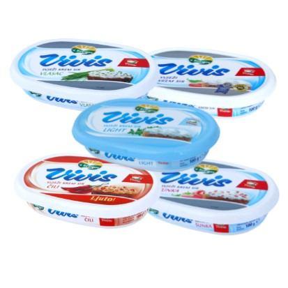Vivis krem sir 100 g razne vrste