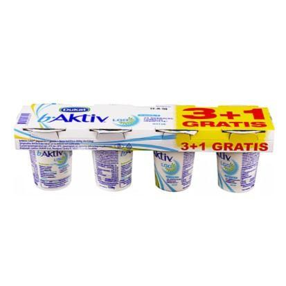 Jogurt B aktiv 3+1 gratis 600 g