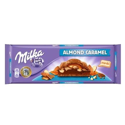 Čokolada Milka Almond caramel 300 g