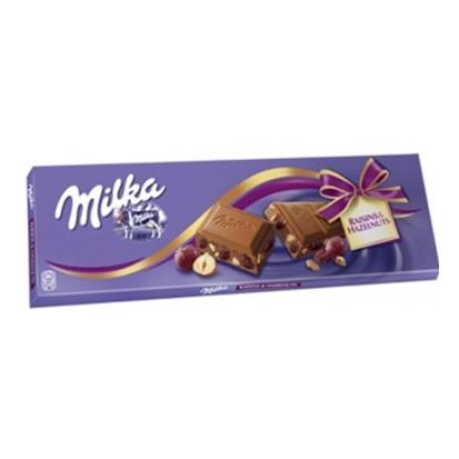 Čokolada Milka grožđice lješnjak 270 g