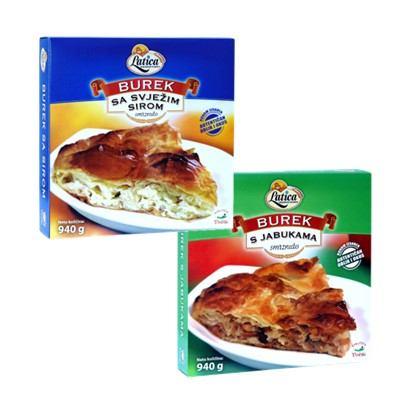 Burek sa svježim sirom, s jabukama 940 g smrz., Latica