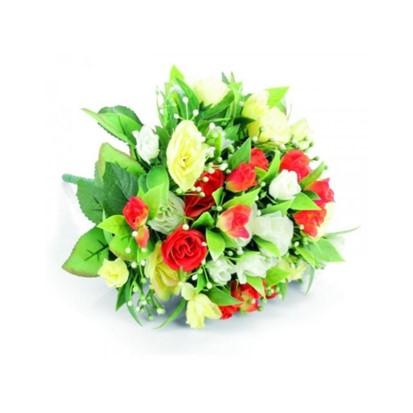 Umjetno cvijeće - Buket ruža mix