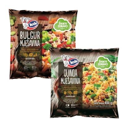 Quinoa i Bulgur mješavina 400 g Ledo