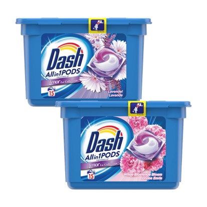 Gel kapsule Dash Spring bloom, Lavanda 15 komada
