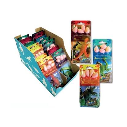 Žvakaće gume Crazy gummy dinosaur with toy 16 g