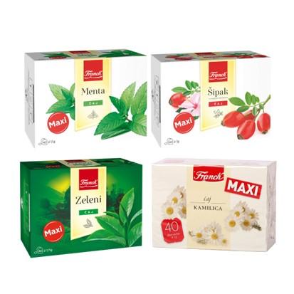 Čajevi Maxi Franck 110 g razne vrste