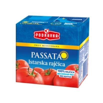 Pasirana rajčica 500 g Podravka