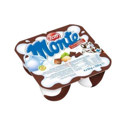 Desert Monte čokolada 4x55 g Zott