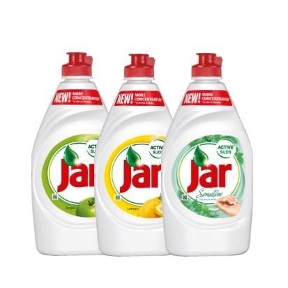 Deterdžent za suđe Jar lemon, apple, tea tree & mint 450 ml