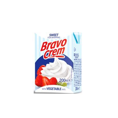 Vrhnje za šlag Bravo Crem sweet 200 ml