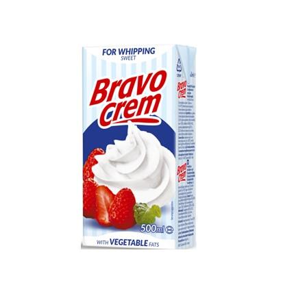 Vrhnje za šlag Bravo Crem sweet 500 ml