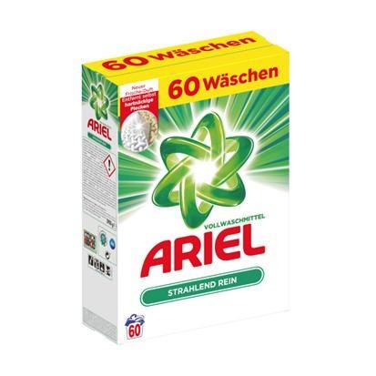 Deterdžent za rublje Ariel regular 60 pranja 3,9 kg