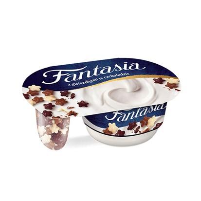 Jogurt Fantasia čokoladne zvjezdice Danone 106 g